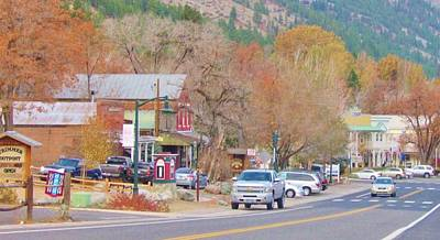 Photograph - Genoa Nevada by Marilyn Diaz