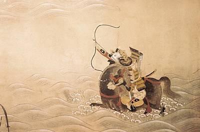 Genpei War Episodes 18th C.. Work Art Print by Everett