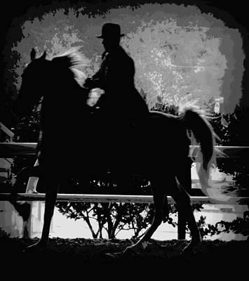 Photograph - Gentalman Rider 1 by Sheri McLeroy