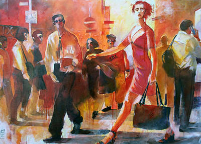 Painting - Gente Per Strada by Alessandro Andreuccetti