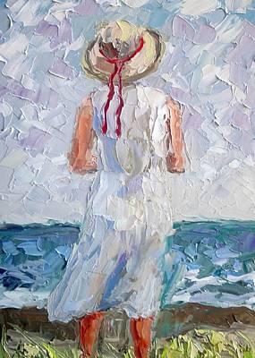 Isle Of Palms Painting - Gentle Breeze by Arlon Rosenoff