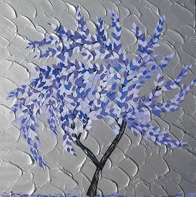 Mums Painting - Gentle Breeze by Cathy Jacobs