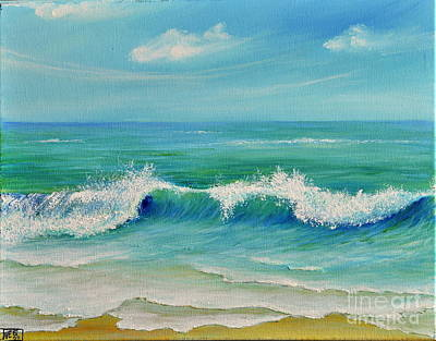 Gentle Breeze Art Print by Teresa Wegrzyn