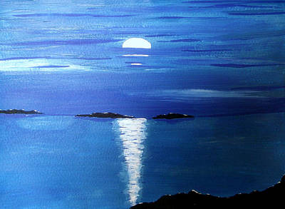 Painting - Gentle Evening by Sandy Wager