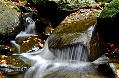 Gentle Cascades Photograph - Gentle Falls by Frozen in Time Fine Art Photography