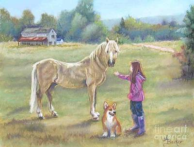 Pastel - Gentle Friends by Ann Becker