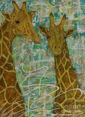Painting - Gentle Giants by Jane Chesnut