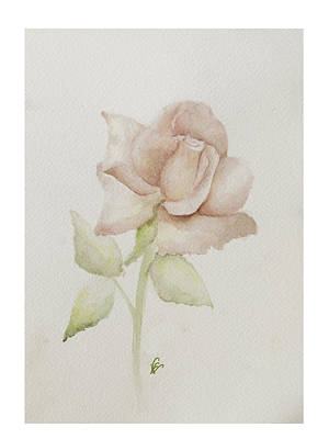 Gentle Grace Art Print by Nancy Edwards