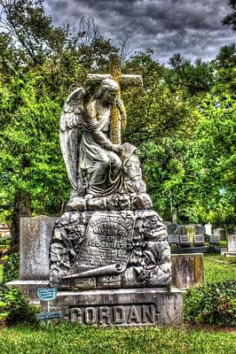 Elmwood Cemetery Photograph - Gentle Man by Shannon Louder