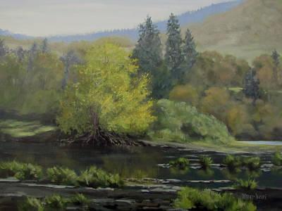 Painting - Gentle Morning by Karen Ilari