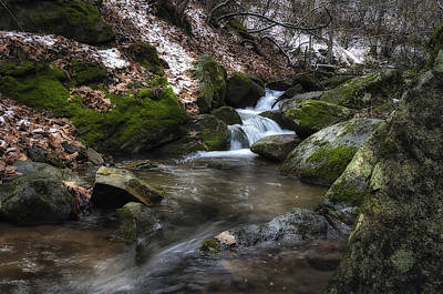 Photograph - Gentle Mountain Stream by Steve Hurt