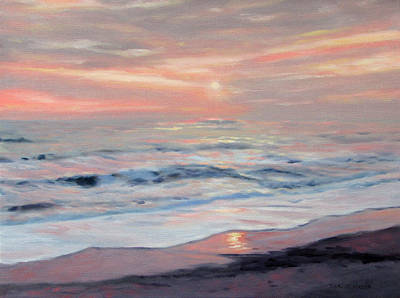 Painting - Gentle Sunrise by Bonnie Mason