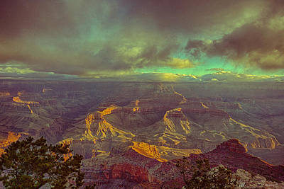 Early Morning At Grand Canyon Photograph - Gentle Sunrise Over The Canyon by Lisa  Spencer
