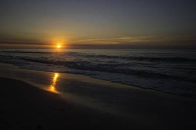 Digital Art - Gentle Surf And Shiney Beach by Michael Thomas