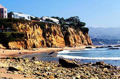 Tv Commercials Photograph - Gentle Surf At Paradise Cove by Ron Regalado