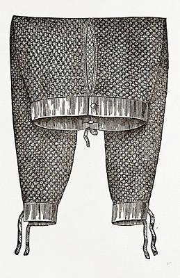 Gentlemans Drawers Art Print