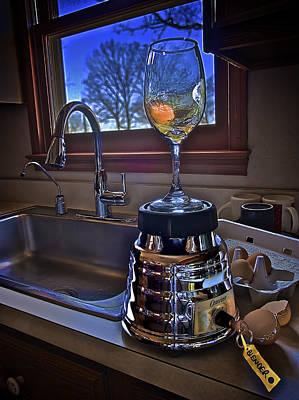 Photograph - Gentlemen Start Your Blenders by Mark Miller