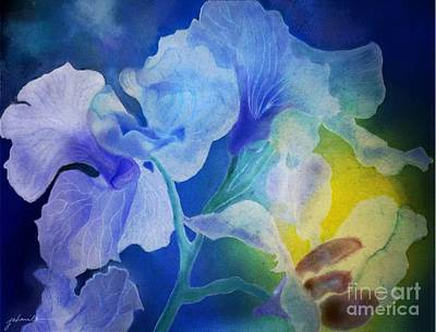 Painting - Gently Into The Light by Joan A Hamilton
