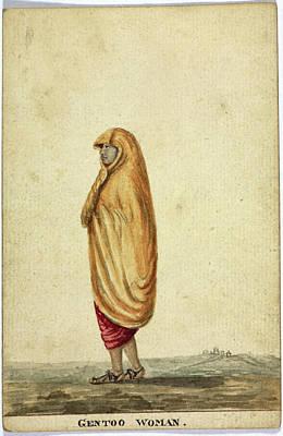 Gentoo Woman Art Print by British Library