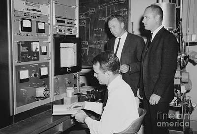 Geomagnetism Research, 1965 Art Print by Library Of Congress