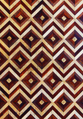 Photograph - Geometric Inlay Design by Jennifer Muller
