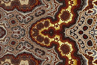 Abstract Digital Art - Geometric Patterns No. 7 by Mark Eggleston