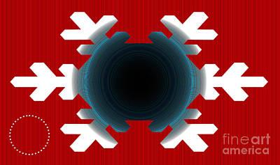 Geometric Shape Abstract 49 Art Print