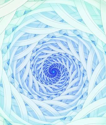 Geometric Spirals Art Print