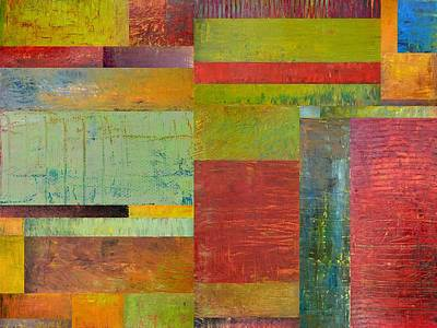 Compilation Painting - Geometric Study 1.0 by Michelle Calkins