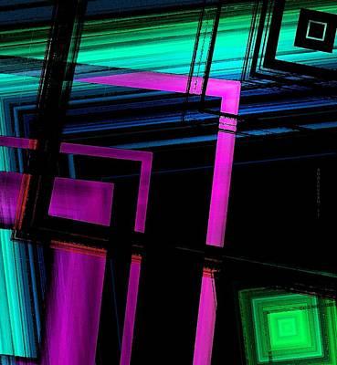 Postcard Digital Art - Geometric Style by Mario Perez
