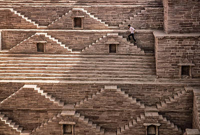 Stone Steps Photograph - Geometry by Andrei Nicolas -