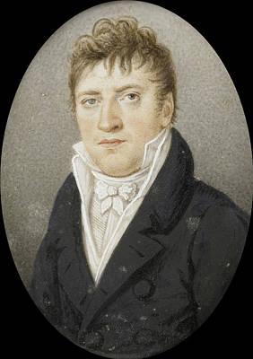 Georg Albrecht Diederichs 1751-1816. Bookseller In Amsterdam Art Print by Litz Collection