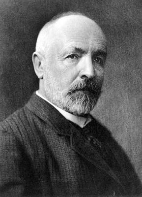 Infinite Numbers Georg Cantor Photograph - Georg Cantor, German Mathematician by Science Photo Library