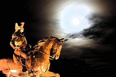 Boston Photograph - George And The Moon by Pedro Correa