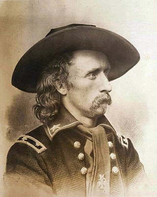 George Armstrong Custer Art Print by Unknown