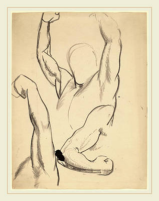 Boxer Drawing - George Bellows, Arms Of A Boxer, American by Litz Collection