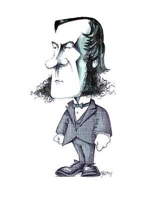George Boole Art Print by Gary Brown