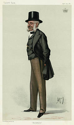 George Charles Bingham 3rd Earl Art Print by Mary Evans Picture Library