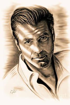 George Clooney Original by Gitta Glaeser