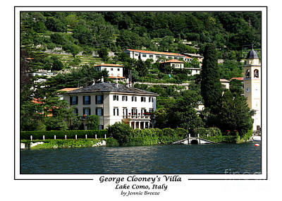 Photograph - George Clooney Villa.como by Jennie Breeze