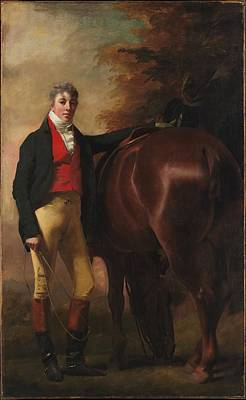 George Harley Drummond 1783-1855 Art Print by Sir Henry Raeburn