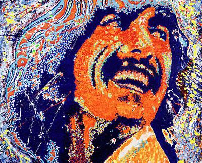 George Harrison Art Print by Barry Novis