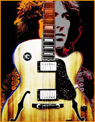 Rock And Roll Digital Art - George Harrison by Larry Butterworth