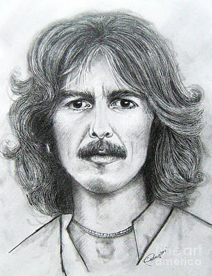 Mccartney Drawing - George Harrison by Patrice Torrillo