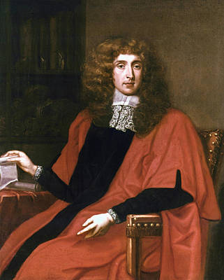 Justice Painting - George Jeffreys (1645-1689) by Granger