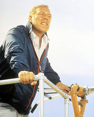 1975 Photograph - George Kennedy In Airport 1975  by Silver Screen