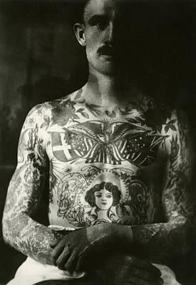 george larson Tattoo Flash Art Original