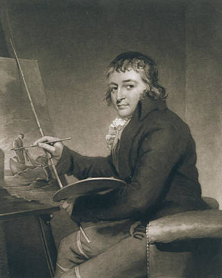 Painter Photograph - George Morland, 1805 Litho by John Raphael Smith