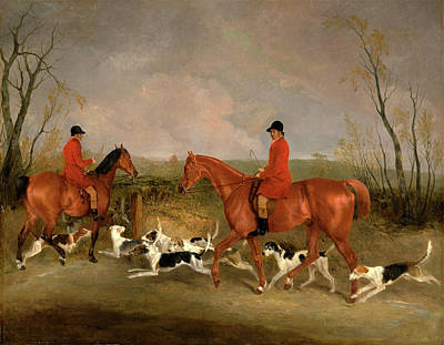 Melton Painting - George Mountford, Huntsman To The Quorn by Litz Collection