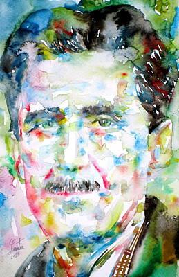 1984 Painting - George Orwell by Fabrizio Cassetta